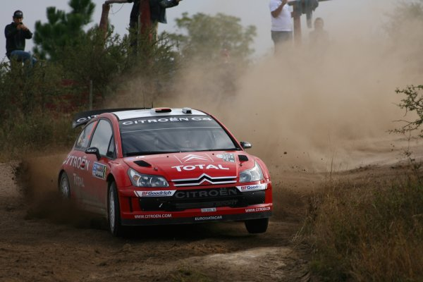2007 FIA World Rally Champs. Round 6Rally Argentina, 3 May - 6 May Daniel Sordo, Citroen, actionWorld Copyright: McKlein/LAT