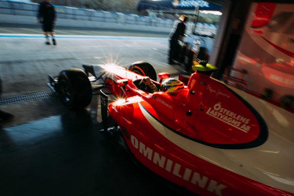 2016 GP2 Series Testing. Jerez, Spain. Wednesday 30 March 2016 Jimmy Eriksson (SWE) Arden International  World Copyright: Malcolm Griffiths/LAT Photographic. ref: Digital Image _G7C1089