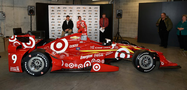 2 February, 2016, Indianapolis, Indiana USA  Target Chip Ganassi Racing Scott Dixon Car Unveiling ?2016 Scott R LePage LAT Photo USA