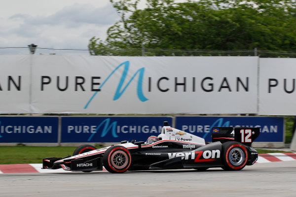 1 June, 2013, Detroit, Michigan, USA Will Power ©2013, Todd Davis LAT Photo USA