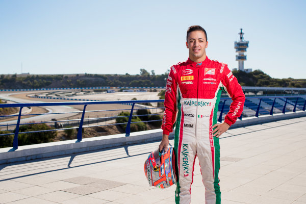 2017 FIA Formula 2 Round 10. Circuito de Jerez, Jerez, Spain. Thursday 5 October 2017. Antonio Fuoco (ITA, PREMA Racing).  Photo: Zak Mauger/FIA Formula 2. ref: Digital Image _56I3840