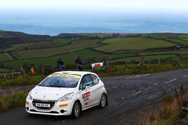 2017 Prestone MSA British Rally Championship, Rally Isle of Man. 14th - 16th September 2017. Josh Cornwell / Cliona Collins Peugeot 208. World Copyright: JEP/LAT Images