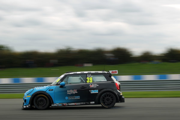 JCW Mini Challenge  Donington Park, Leicestershire. 23rd - 24th September 2017. Brett Smith World Copyright: JEP/LAT Images