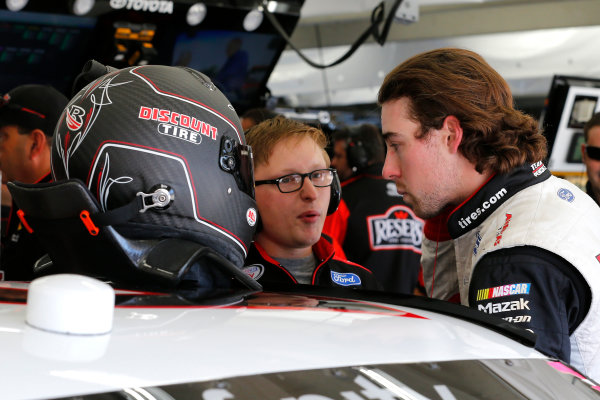 NASCAR XFINITY Series Drive for the Cure 300 Charlotte Motor Speedway, Concord, NC Friday 6 October 2017 Ryan Blaney, Shell Pennzoil Ford Mustang World Copyright: Russell LaBounty LAT Images