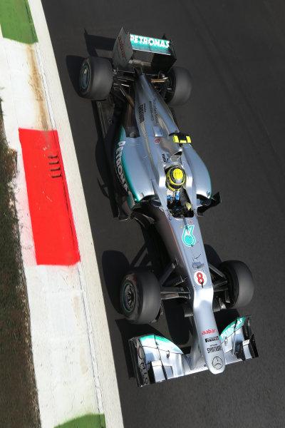 Autodromo Nazionale di Monza, Monza, Italy. 7th September 2012. Nico Rosberg, Mercedes F1 W03.  World Copyright: Steve Etherington/LAT Photographic ref: Digital Image SNE14737 copy