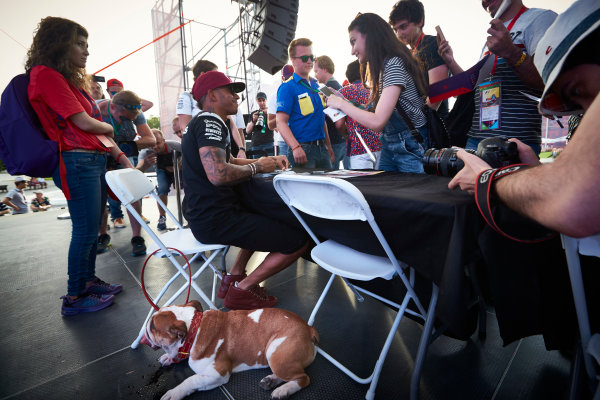 Baku City Circuit, Baku, Azerbaijan.