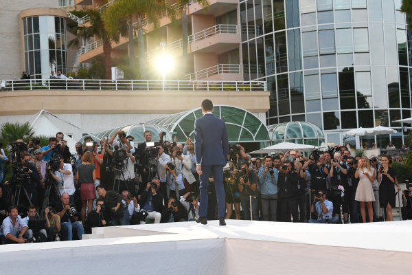 Monte Carlo, Monaco. Friday 26 May 2017. Daniil Kvyat (RUS) Scuderia Toro Rosso at the Amber Lounge Fashion Show, Le Meridien Beach Plaza Hotel, Monaco World Copyright: Mark Sutton/Sutton/LAT Images ref: Digital Image dcd1727my351