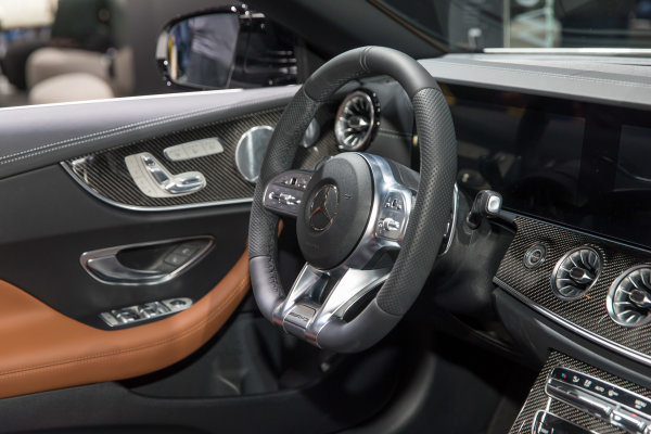 2019 Mercedes-AMG E53 Cabriolet debuts at the 2018 North American International Auto Show in Detroit.