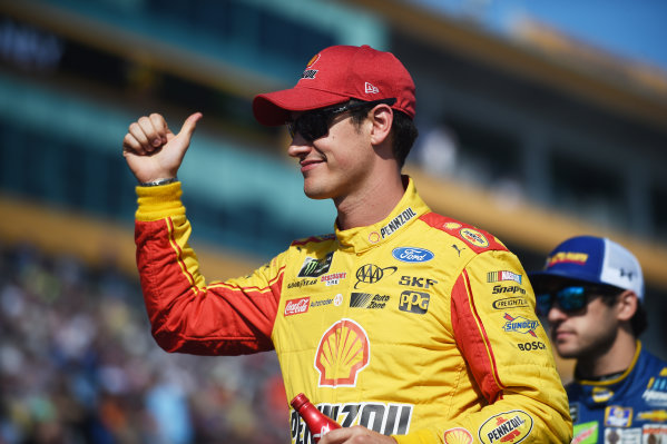 Monster Energy NASCAR Cup Series Homestead-Miami Speedway, Homestead, Florida USA Sunday 19 November 2017 Joey Logano, Team Penske, Ford Fusion World Copyright: Rainier Ehrhardt / LAT Images ref: Digital Image DSC_1385