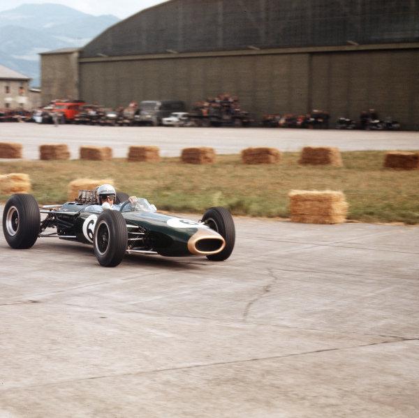 Zeltweg, Austria.21-23 August 1964.Jack Brabham (Brabham BT11 Climax).Ref-3/1390.World Copyright - LAT Photographic
