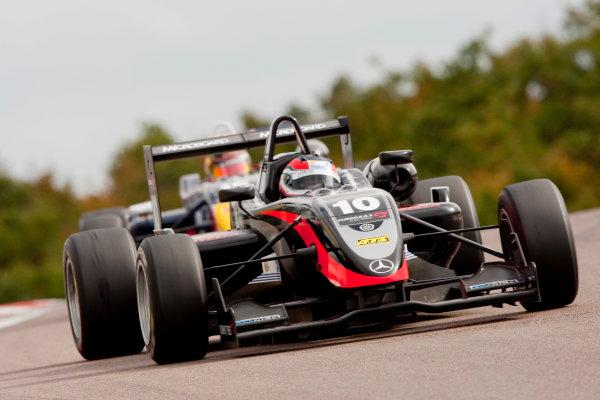 Dijon - Prenois, France. Saturday 10th October. Pedro Enrique (Manor Motorsport Dallara F308 / Mercedes). Action. World Copyright: Alastair Staley/LAT Photographic.Ref: _O9T8834 jpg
