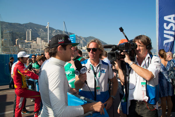 2014/2015 FIA Formula E Championship. Nelson Piquet Jr (BRA)/China Racing - Spark-Renault SRT_01E  Monaco ePrix Race. Monaco ePrix, Monte Carlo, Monaco, Europe. Saturday 9 May 2015  Photo: Adam Warner/LAT/Formula E ref: Digital Image _L5R1527