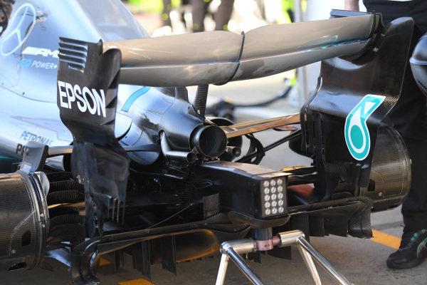 Mercedes-AMG F1 W09 EQ Power+ rear