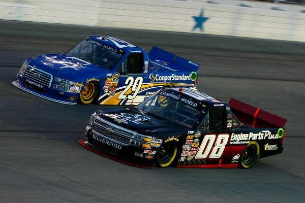 5-6 June, 2014, Fort Worth, Texas USA Jimmy Weller III and Ryan Blaney ? 2014, Russell LaBounty LAT Photo USA