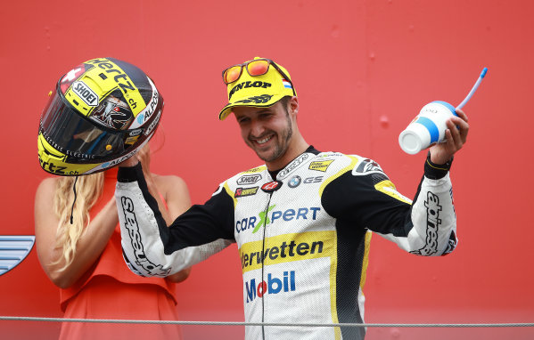 2017 Moto2 Championship - Round 8 Assen, Netherlands Sunday 25 June 2017 Podium: second place Thomas Luthi, CarXpert Interwetten World Copyright: David Goldman/LAT Images ref: Digital Image 680206