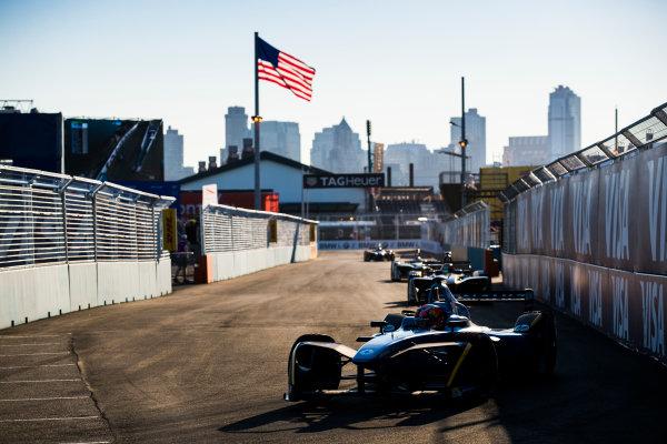 2016/2017 FIA Formula E Championship. Round 10 - New York City ePrix, Brooklyn, New York, USA. Sunday 16 July 2017. Pierre Gasly (FRA), Renault e.Dams, Spark-Renault, Renault Z.E 16. Photo: Sam Bloxham/LAT/Formula E ref: Digital Image _J6I4156
