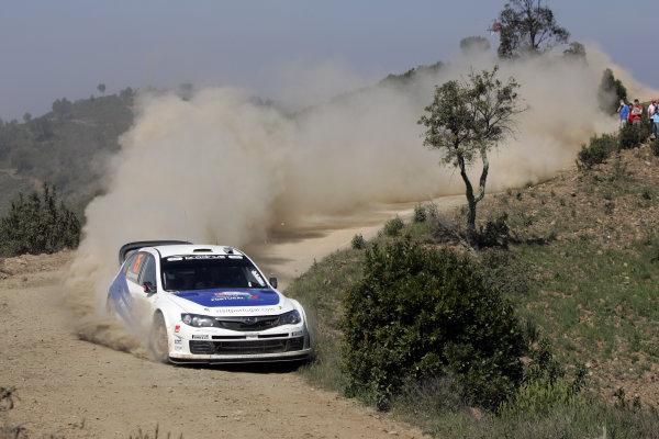 Round 04Rally Portugal 2- 5 of April 2009Marcus Gronholm, Subaru WRC, ActionWorldwide Copyright: McKlein/LAT