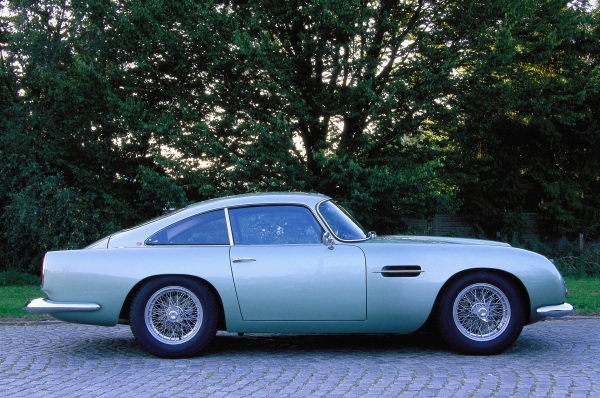 Aston Martin DB4 GT, 1960. Dortmund, Germany.