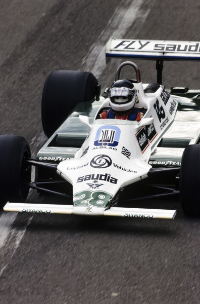 Carlos Reutemann, Williams FW07B Ford.