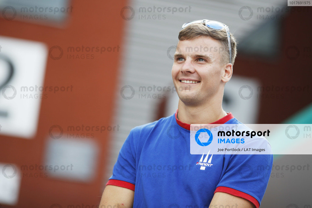 SPA-FRANCORCHAMPS, BELGIUM - AUGUST 29: Niko Kari (FIN, Trident) during the Spa-Francorchamps at Spa-Francorchamps on August 29, 2019 in Spa-Francorchamps, Belgium. (Photo by Joe Portlock / LAT Images / FIA F3 Championship)