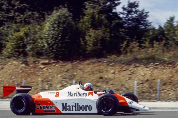 Niki Lauda, McLaren MP4-1B Ford.
