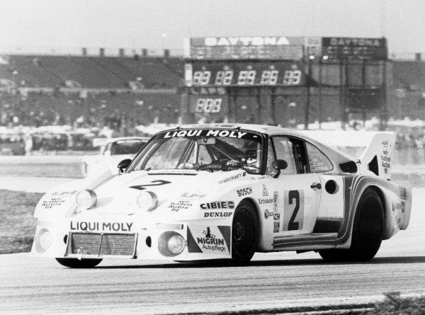 1980 Daytona 24 HoursReinhold Joest / Rolf Stommelen / Volkert Merl - Porsche 935J (Joest) - 1st placeDaytona, USA. 3rd - 4th February 1980World Copyright - LAT Photographic