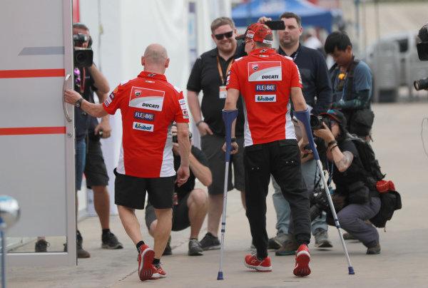 Jorge Lorenzo injured