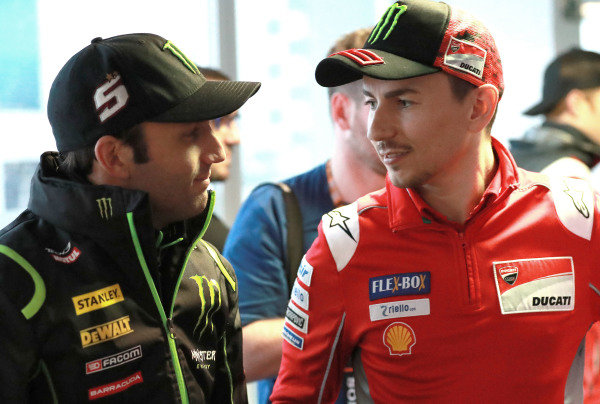 Johann Zarco, Monster Yamaha Tech 3, Jorge Lorenzo, Ducati Team.