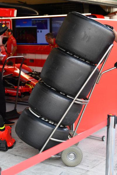 Ferrari Pirelli tyres