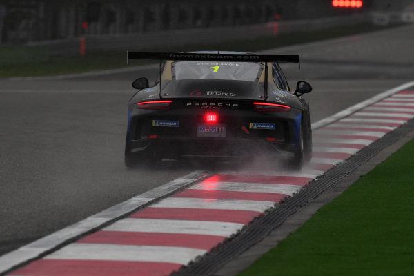 Chris Van Der Drift (NZL) Team Formax at Porsche Carrera Cup Asia, Shanghai, China, 13-15 April 2018.