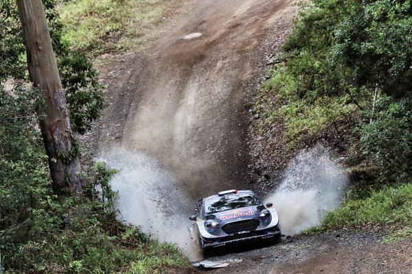 Sebastien Ogier (FRA) / Julien Ingrassia (FRA), M-Sport World Rally Team Ford Fiesta WRC at World Rally Championship, Rd13, Rally Australia, Day Three, Coffs Harbour, New South Wales, Australia, 19 November 2017.