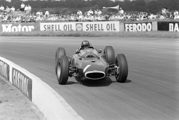 Graham Hill, BRM P57.