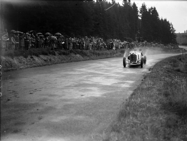 Rudolf Caracciola, Mercedes-Benz SSKL.