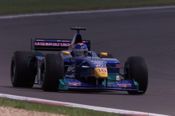 2000 European Grand Prix.Nurburgring, Germany. 19-21 May 2000.Pedro Diniz (Sauber C19 Petronas) 7th position.World Copyright - LAT Photographic