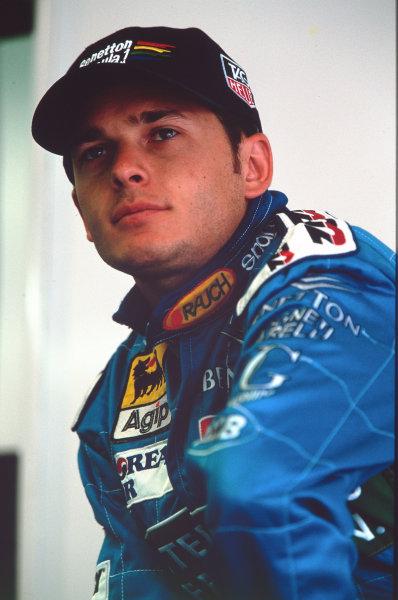 1999 British Grand Prix.Silverstone, England.9-11 July 1999.Giancarlo Fisichella (Benetton Playlife).Ref-F11A 06.World Copyright - LAT Photographic