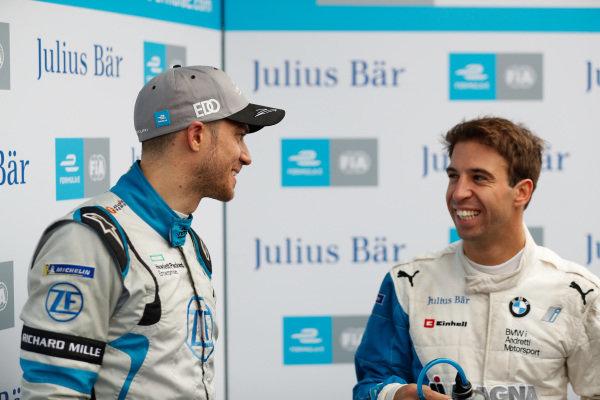 Edoardo Mortara (CHE) Venturi Formula E and Antonio Felix da Costa (PRT), BMW I Andretti Motorsports