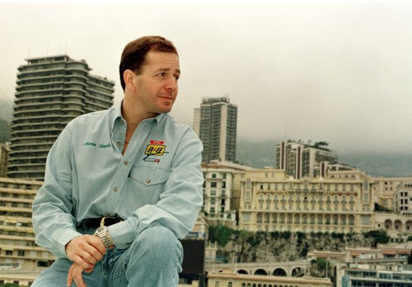 Monaco Grand Prix.Monte Carlo, Monaco.16-19 May 1996Martin Brundle (Jordan Peugeot) in front of the harbour.World Copyright - LAT Photographic