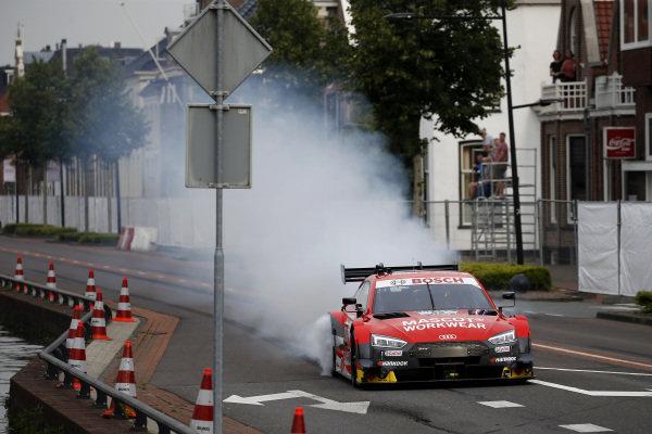 Robin Frijns, Audi RS5 DTM.
