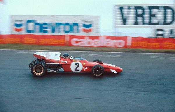1971 Dutch Grand Prix.Zandvoort, Holland.18-20 June 1971.Jacky Ickx (Ferrari 312B2) 1st position.Ref-71 HOL 06.World Copyright - LAT Photographic