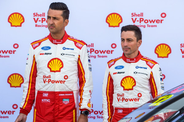 Fabian Coulthard, DJR Team Penske Ford, Tony D'alberto, DJR Team Penske Ford