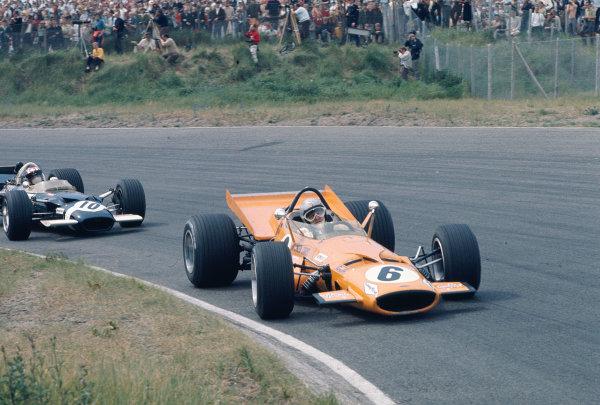 1969 Dutch Grand Prix.Zandvoort, Holland.19-21 June 1969.Bruce McLaren (McLaren M7C Ford).Ref-69 HOL 10.World Copyright - LAT Photographic