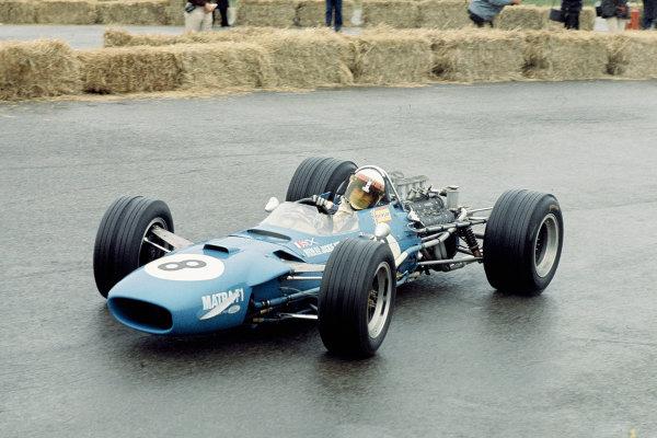1968 Dutch Grand Prix.Zandvoort, Holland.21-23 June 1968.Jackie Stewart (Matra MS10 Ford) 1st position.Ref-68 HOL 02.World Copyright - LAT Photographic