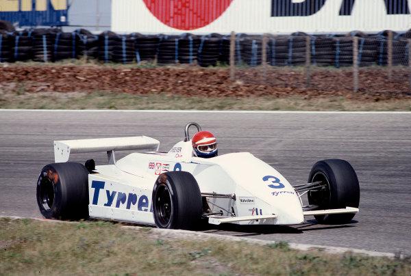 1981 Dutch Grand Prix.Zandvoort, Holland. 28-30 August 1981.Eddie Cheever (Tyrrell 011 Ford).Ref-81 HOL 42.World Copyright - LAT Photographic