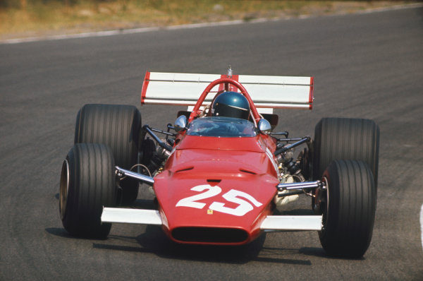 Zandvoort, Holland. 19th - 21st June 1970.Jacky Ickx (Ferrari 312B), 3rd position, action. World Copyright: LAT Photographic.Ref: Colour Transparency.