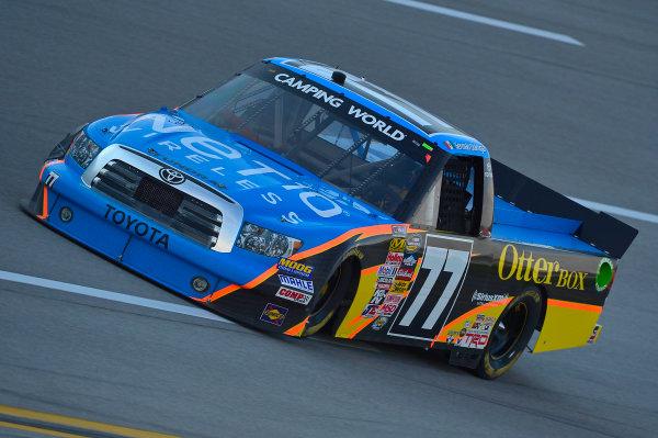October 18-19, 2013, Talladega, Alabama USA German Quiroga Jr truck © 2013, Brian Czobat LAT Photo USA