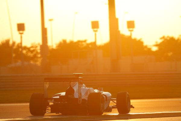 2014 GP3 Series Test 3.   Yas Marina Circuit, Abu Dhabi, United Arab Emirates. Saturday 29 November 2014. Antonio Fuoco (ITA, ART Grand Prix)  Photo: Sam Bloxham/GP3 Series Media Service. ref: Digital Image _14P2984