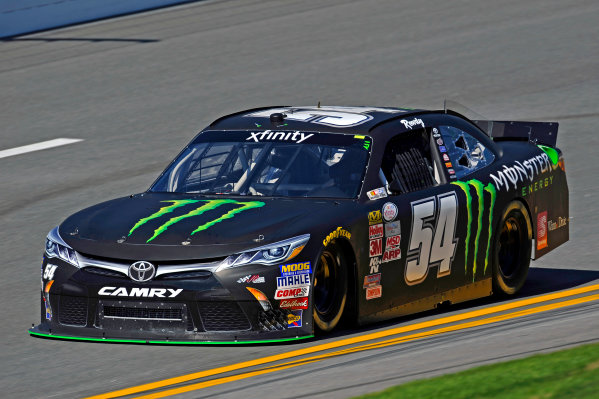 20-21 February, 2015, Daytona Beach, Florida USA Kyle Busch, Monster Energy Toyota Camry ?2015, F. Peirce Williams LAT Photo USA