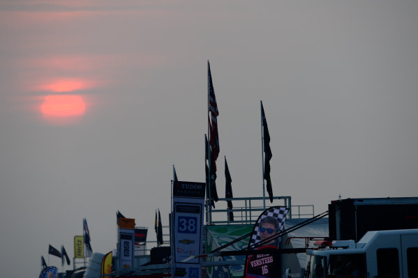 19-21 March, 2015, Sebring, Florida USA Sunrise over Sebring paddock ©2015, Richard Dole LAT Photo USA
