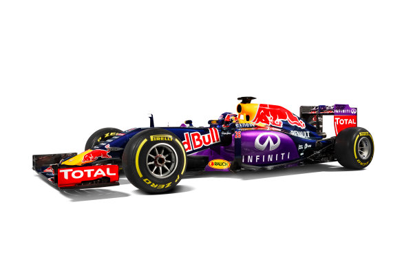 Infiniti Red Bull Racing RB11 Studio Images. Milton Keynes, UK. Sunday 1 March 2015. The Red Bull Racing RB11. Photo: Red Bull Racing (Copyright Free FOR EDITORIAL USE ONLY) ref: Digital Image RB11_LIVERY_14