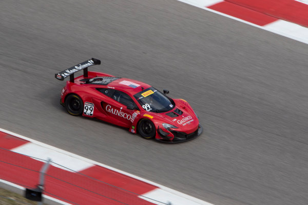 4-6 March, 2016, Austin, Texas USA #99 McLaren , Jon Fogarty ?2016, Brian Cleary LAT Photo USA
